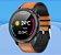 Relógio Smartwatch L17 - Preto com Pulseira Couro Marrom - IOS e Android - Imagem 3