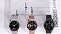 Relógio Eletrônico Smartwatch DT56 - Rosa Silicone - Android / IOS - Imagem 3
