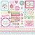 Adesivo 30x30 Cream & Sugar Doodlebug - Imagem 1
