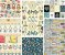Kit com 6 papéis de scrapbook Bem Estar - Goodies - Imagem 1