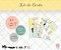 Kit de cards 1 ano de amor P - Coleção Meu Coração é Seu - Juju Scrapbook - Imagem 1