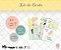 Kit de cards 1 ano de amor G - Coleção Meu Coração é Seu - Juju Scrapbook - Imagem 1