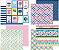 Kit 4 papéis 30x30 dupla-face, coleção Hello, Doodlebug - Imagem 1