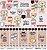 Papel para scrapbook - 30x30 Kitchen & Co - Cozinha - Coffee & Co- Goodies - Imagem 1