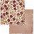 Papel scrapbook 30x30 Charmed - Adorável - Bo Bunny - Imagem 1