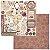 Papel scrapbook 30x30 Charmed - Perfeição - Bo Bunny - Imagem 1