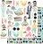 Papel scrapbook 30x30 My Family - My Dad - My Memories Crafts  - Imagem 1