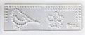 Régua de costura - Passarinho - Shabby Dreams - Juju Scrapbook - Imagem 1