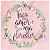Card 15x15 Faça com Amor e Veja Florescer - Arte Fácil - Imagem 1