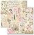 Papel scrapbook 30x30 Rose e Mint 6 - Arte Fácil - Imagem 1