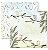 Papel scrapbook 30x30 Passarinhos 2 - Arte Fácil - Imagem 1