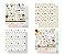 Kit 4 papéis 30,5 x 30,5 Bichinhos - Gato e Cachorro - dupla-face  - Litoarte - Imagem 1