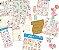 Kit completo coleção Mon Monde Rose - Daia Casagrande - Litoarte - Imagem 1