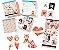 Kit completo coleção Amor Aquarela - Litoarte - Imagem 1