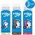 3 Garrafinhas de Proteína (chocolate-morango-baunilha) +Mu - Imagem 1