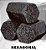 Carvão Hexagonal 3 unidades - Imagem 1