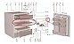 Bandeja Degelo Cold Drink Do Frigobar Electrolux Re80 E Re120 - Imagem 3