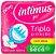 ABS Intimus Gel Seca Com Abas 8 Unidades - Imagem 1