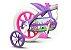 Bicicleta Infantil Nathor Aro 12 Violeta - Imagem 7