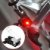 Mini Luz De Freio Bicicleta Led Sinalizador Noturno - Imagem 2