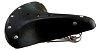 Selim banco 3 molas de couro para bicicleta antiga Retrô - Imagem 1