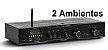 Amplificador - Receiver para Som Ambiente Frahm SLIM 2500 APP - 2 Ambiente - Imagem 1