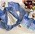 Jaqueta Jeans Forrada Pelinhos - Imagem 1
