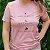 Agora Sou ECO Camiseta 100% Algodão Orgânico - Ajude As Abelhas - Rosa 1un - Imagem 5