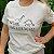 Agora Sou ECO Camiseta 100% Algodão Orgânico - Herbívoros - Off White 1un - Imagem 5