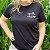 Agora Sou ECO Camiseta 100% Algodão Orgânico - Espalhe Amor - Preta 1un - Imagem 5