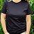 Agora Sou ECO Camiseta 100% Algodão Orgânico - Sem Estampa - Preta 1un - Imagem 4