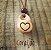 Colar Aromatizador Pessoal de Cerâmica Coração 1un - Imagem 2