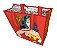 Sacola Plástica Ecobag Mulher Maravilha Body Vermelho - DC Comics - Imagem 1