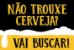 Capacho / Tapete PVC 60x40cm - Trouxe Cerveja? - Imagem 1