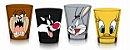 Conjunto c/ 4 Copos Shot 50ml Looney Tunes Personagens - Imagem 1