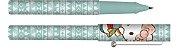 Caneta Esferográfica Hello Kitty Verde Geométrico - Imagem 1