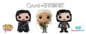 Funko Pop - Game of Thrones - Jon Snow ou Daenerys Targaryen - Imagem 1