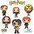Pacote Funko Pop - Harry Potter - Coleção 4 - 6 personagens - Imagem 1