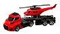 Caminhão + Helicóptero Invictus sky - Cardoso toys - Imagem 1
