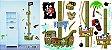 Régua de Altura Adesiva para Parede - Pirata - Imagem 2