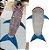 Manta / Saco de dormir -  Tubarão - Imagem 1