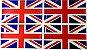 Bandeira Resinada de paiíes Alemanha, Brasil, Itália, Grâ Bretanha, França,  japão, EUA, Portugal, Espanha - Imagem 6