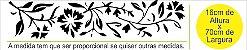 Adesivos Decoração Arabescos Florais Gesso Arquiteto - Imagem 3