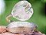 Anel de Prata com Pedra de Flor de Lotus Estilo Trendy Cor Prata - Imagem 3