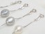 Pulseira de Prata com Perolas Barroca Estilo Trendy 3 cores - Imagem 4