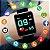 Relógio Smart Inteligente Unissex Eletrônico de Led e Digital - Imagem 4