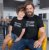 Kit Curto Rock com Meu Filho Preto Camiseta Unissex e Body Infantil - Imagem 2