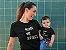 Kit Melhor Mãe Melhor Filho Preta Camiseta Unissex e Camisetinha Infantil - Imagem 2