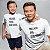 Kit Melhor Pai Melhor Filho Branco Camiseta Unissex e Camisetinha Infantil - Imagem 2