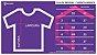 Kit Cheia de Brilho com Glitter Branco Camiseta Unissex e Camisetinha Infantil - Imagem 5